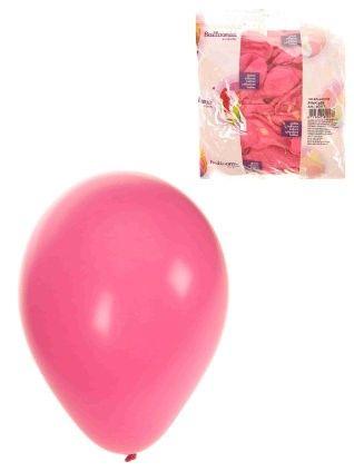 Rosa Heliumballons 100 pack