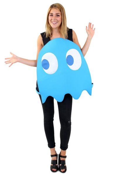 Emoticon blauer Geist Kostüm Imoji