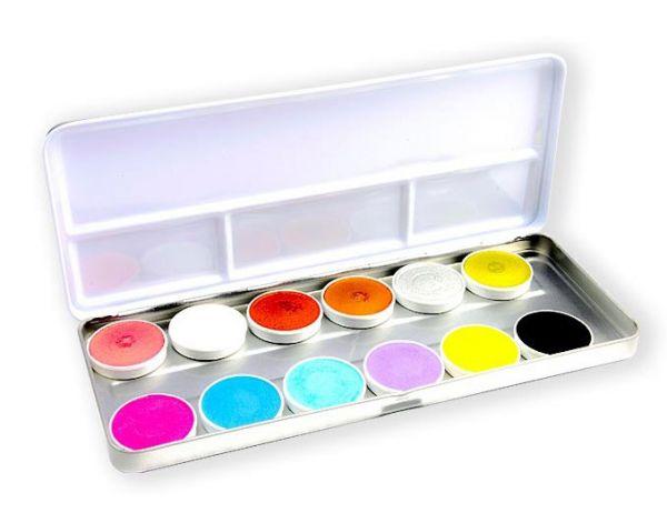 Superstar Schminke palet Shimmer Pastel 12 Farben