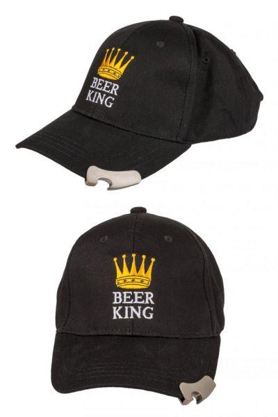 Baseballkappe mit Beer King Flaschenöffner