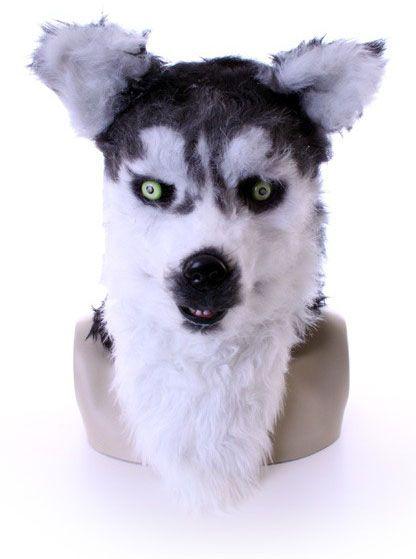 Vollmaske Husky Wolf