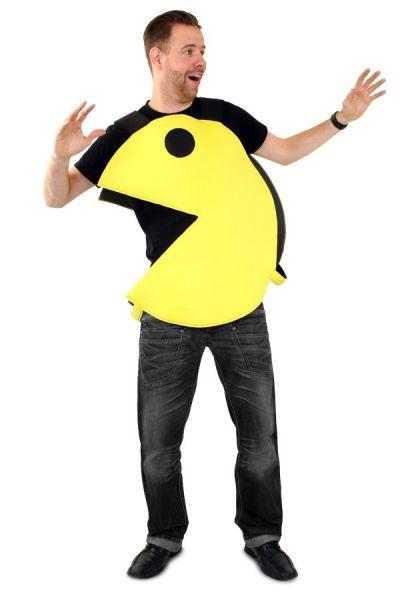 Emoticon Pacman Grabber Kostüm Imoji
