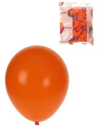 Heliumballone orange 100 Stück