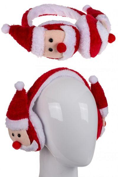Ohrenschützer mit Weihnachtsmännern