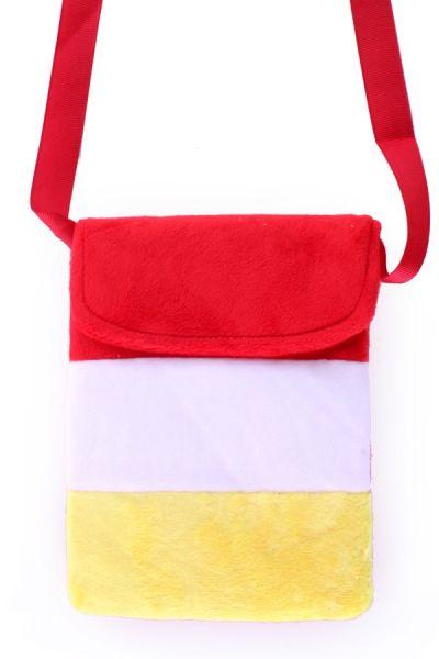 Tasche rot weiß gelb