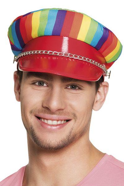 Regenbogen gay pride Hut Rocker