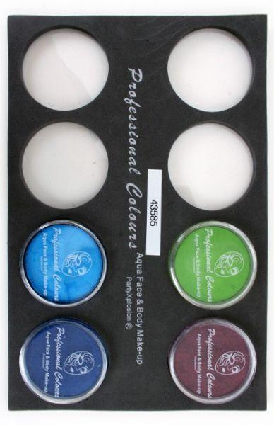 Schminkkoffer Einlagen Tray für 30-Gramm-Gläser