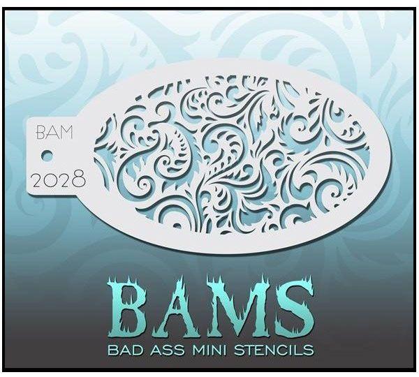 Bad Ass BAM Schminke Vorlagen 2028