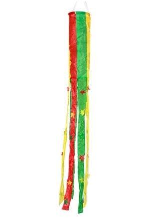 Windsock rot gelb grün Fasching