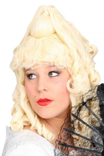 Barock Perücke Gini blond
