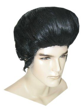 Elvis perücken schwarz