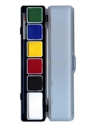 PXP Schminkpalette 6 Standardfarben PartyXplosion