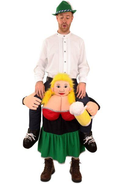 Huckepack Oktoberfest Dirndl von Tiroler getragen