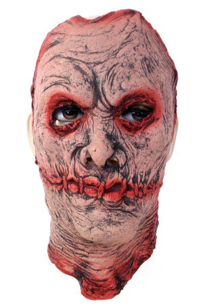 Zombie Maske mit Narben