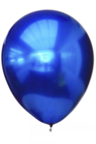 Blaue Titanchromballone