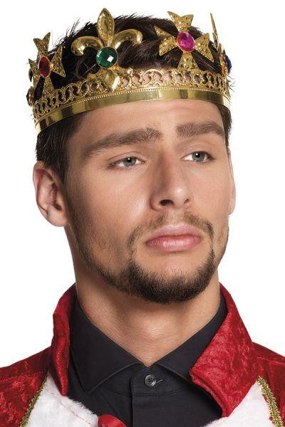 Luxus König Krone Metall