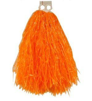 Pom Poms Orange Cheerball Kürbisse
