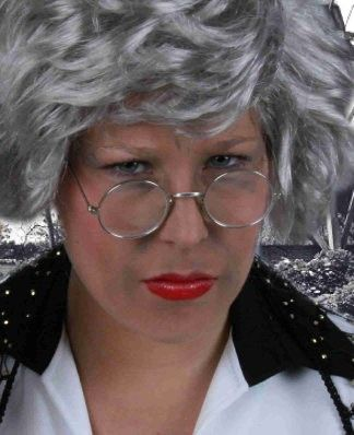 6 Oma Großmutter Brille ohne Glas