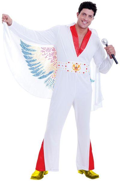 Kostüm Rock and Roll Star Der König