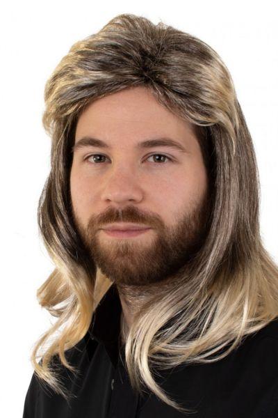 Herren Perücke Johny blonde Melange