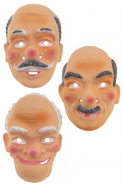 Verschiedene Großvatermasken