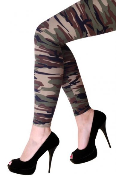 Tarnung Leggings camouflage