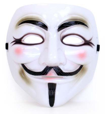 Vendetta Maske aus Kunststoff
