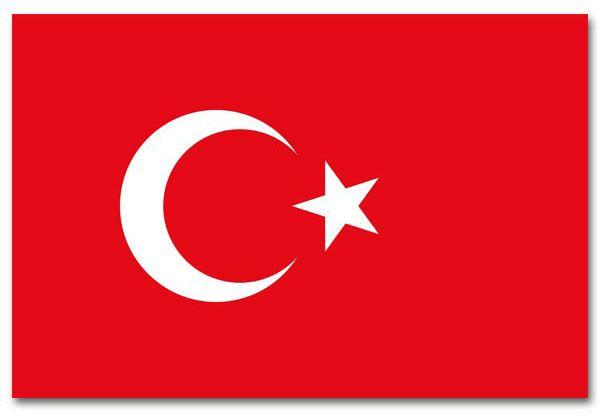 Türkische Flagge Türkei 90x150 cm