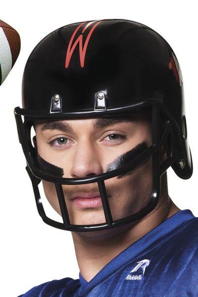 Helm American Football schwarz