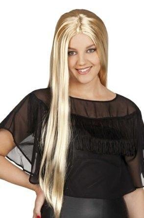 Damen Perücke lange blonde Haare