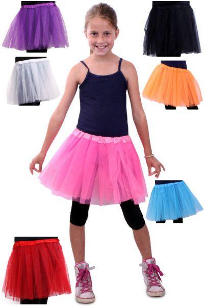 Tüllrock Mädchen in verschiedenen Farben