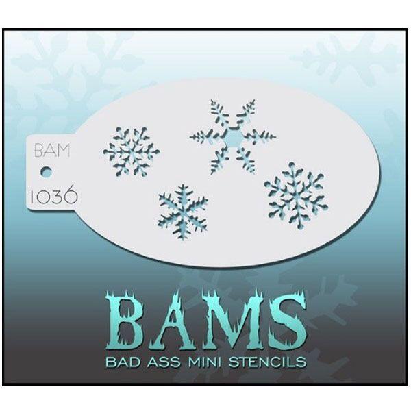 Bad Ass BAM Schminke Vorlagen 1036 Schnee