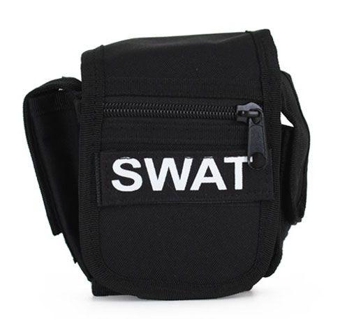 Gürteltasche schwarz SWAT Team