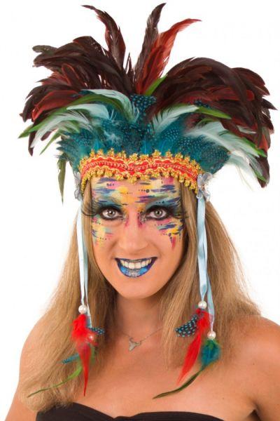 Indianer Tanz Federschmuck Pawnee