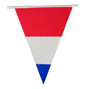 Bunting niederländischen Flagge 60m