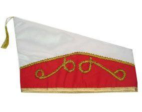 Fürsten Stich rot weiß