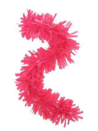 Kunststoff rosa Girlande 10 Meter feuerfest