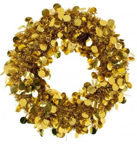 Türkranz 45 cm Gold