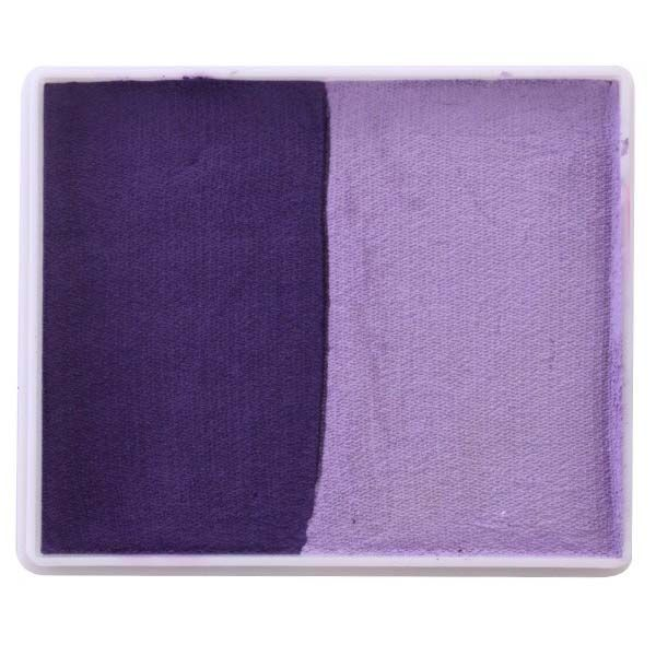 PartyXplosion One Stroke 50 gram split cake violet light purple