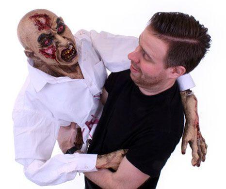 Halloween Handpuppe Zombie Marionette