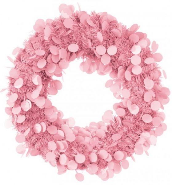 Türkranz 45 cm Rosa