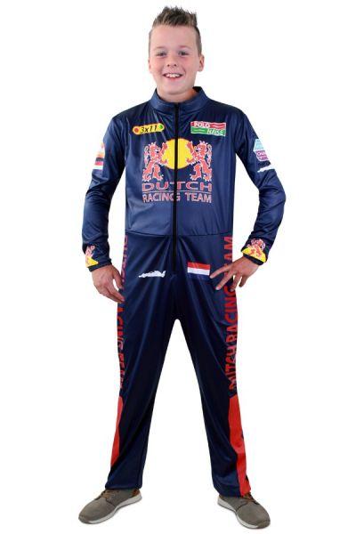 Formel 1 kostüm für Kinder - F1 Rennfahreranzug