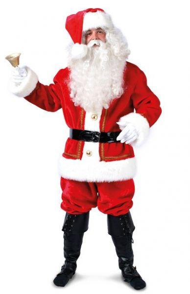 Luxus Weihnachtsweihnachtskostüm rot weißes Weihnachten