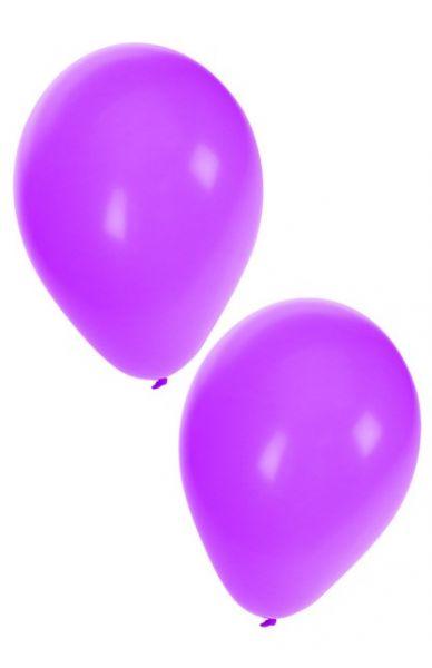 Lila Heliumballons
