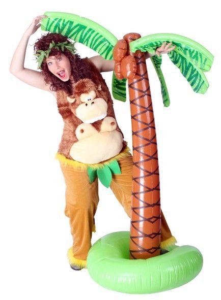 Lustiger verrückter Affe Plüsch-Outfit