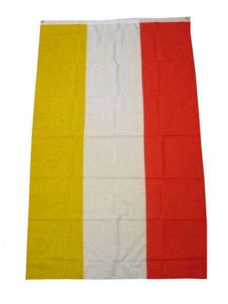 Flagge rot - weiß - gelb