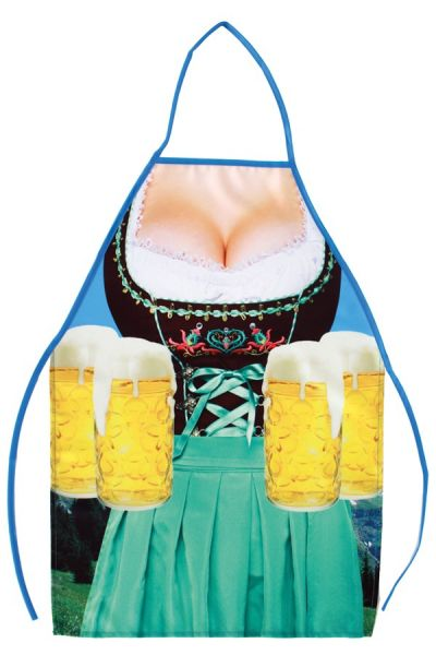 Oktoberfest Bier Schürze Dirndl