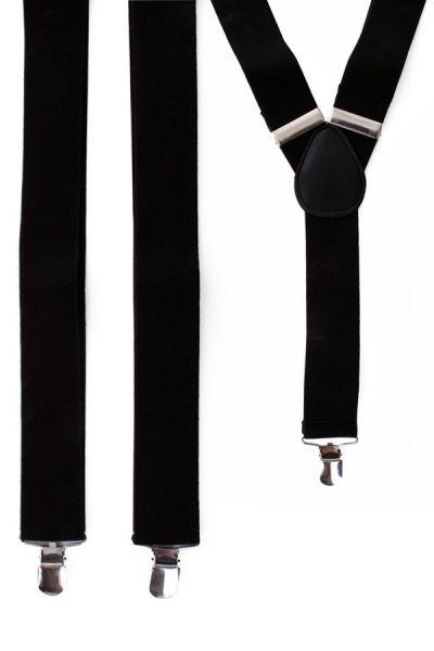 Hosenträger Farbe schwarz