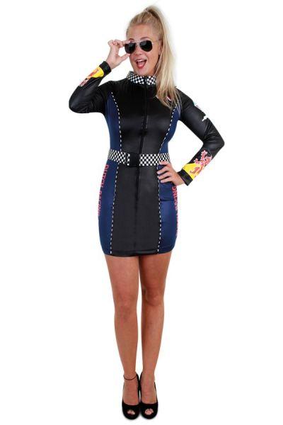 Kleid F1 Pits Katze Damen
