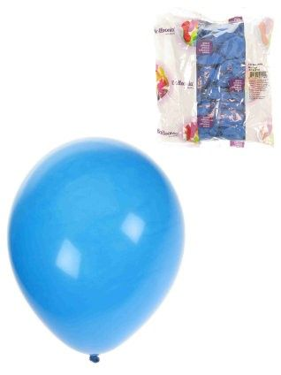Blau Heliumballons 100 pack